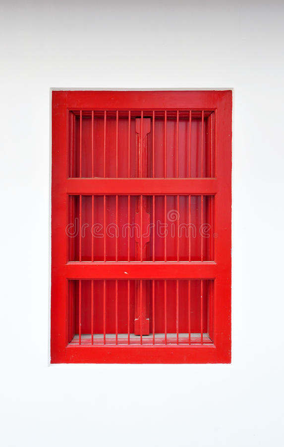 Download Red thai style window stock photo. Image of craft, oriental - 18130054