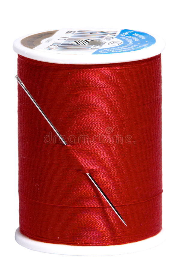 Red thread royalty free stock photos