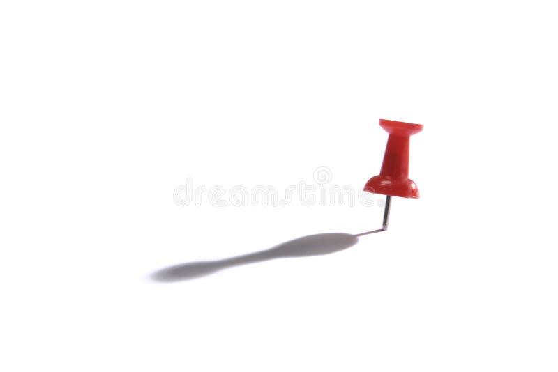 Red Thumb Tack stock photos