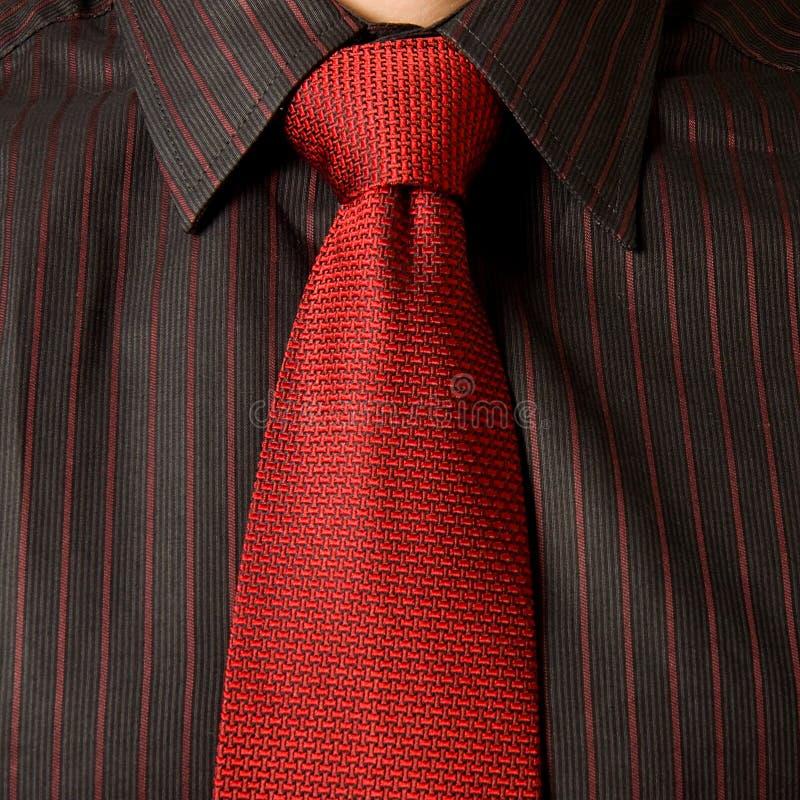 Red Tie Stock Image