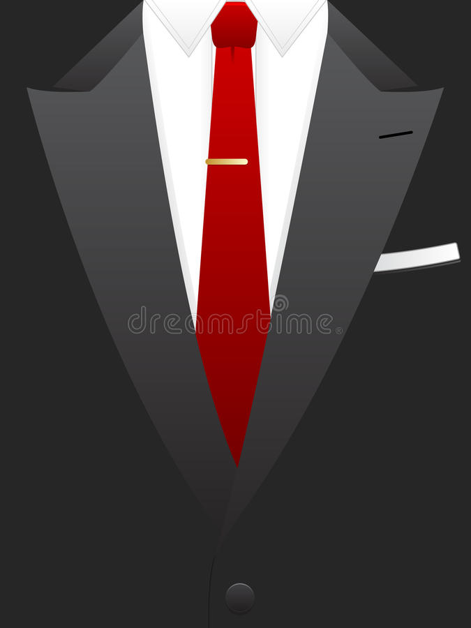 Download Red Tie Tuxedo EPS Royalty Free Stock Photos - Image: 15543738