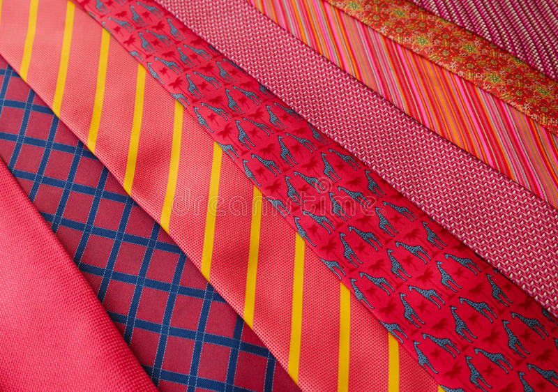 Download Red Ties stock photo. Image of accessories, background - 23710708