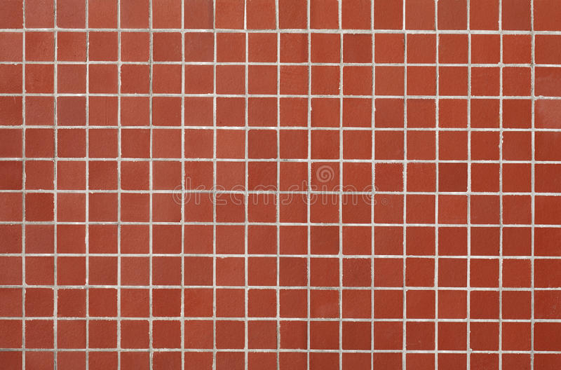 Red Tile. On an outer wall of a building stock images