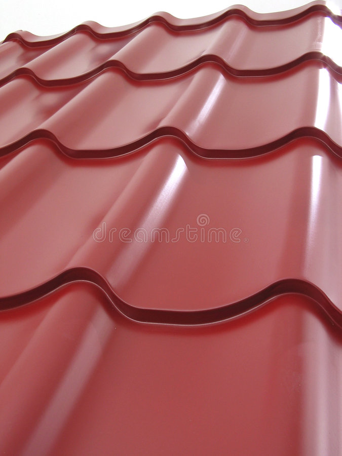 Red Tile - 3D model. For builders stock photography