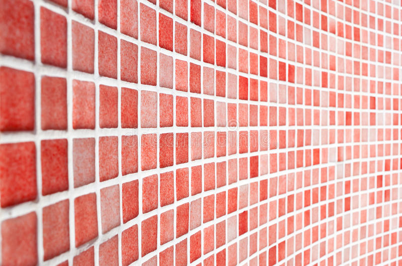 Red Tile Pattern. This image shows Red Tile Pattern royalty free stock photos