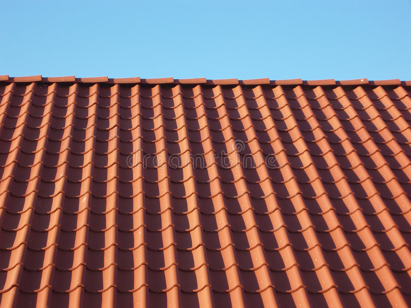 Download Red tile roof stock photo. Image of structure, element - 225530