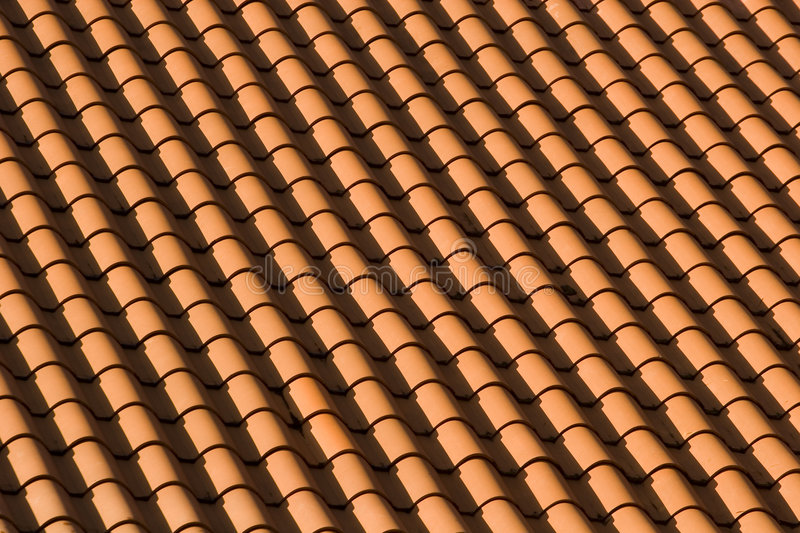 Download Red Tile Roof Patterns stock photo. Image of build, clay - 5936284