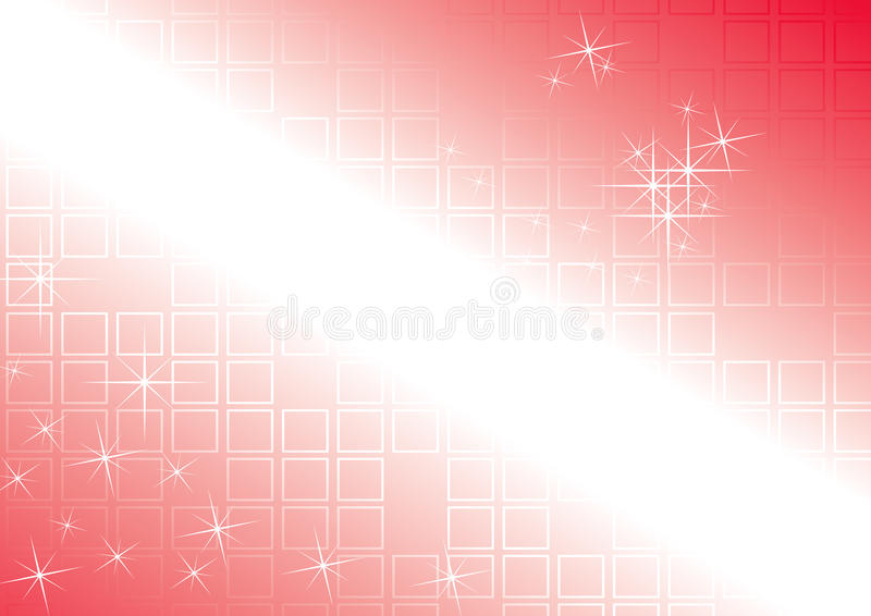 Red Tiled Background royalty free stock photography