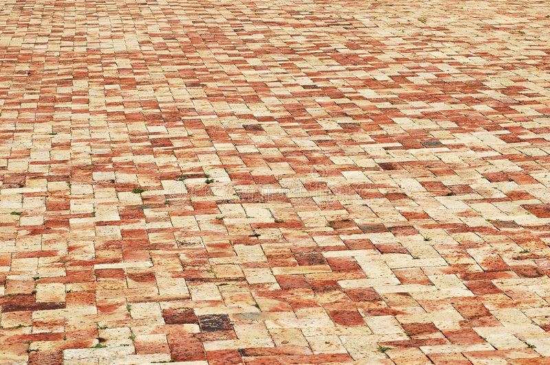 Red tiled background royalty free stock image