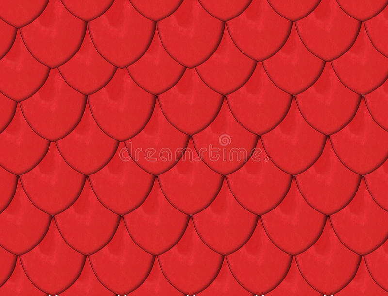 Red Tiles Stock Photography