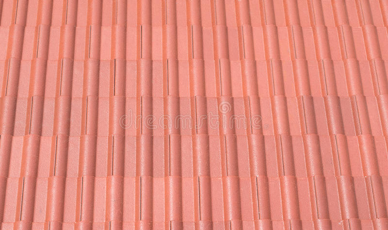 Red tin roof royalty free stock images