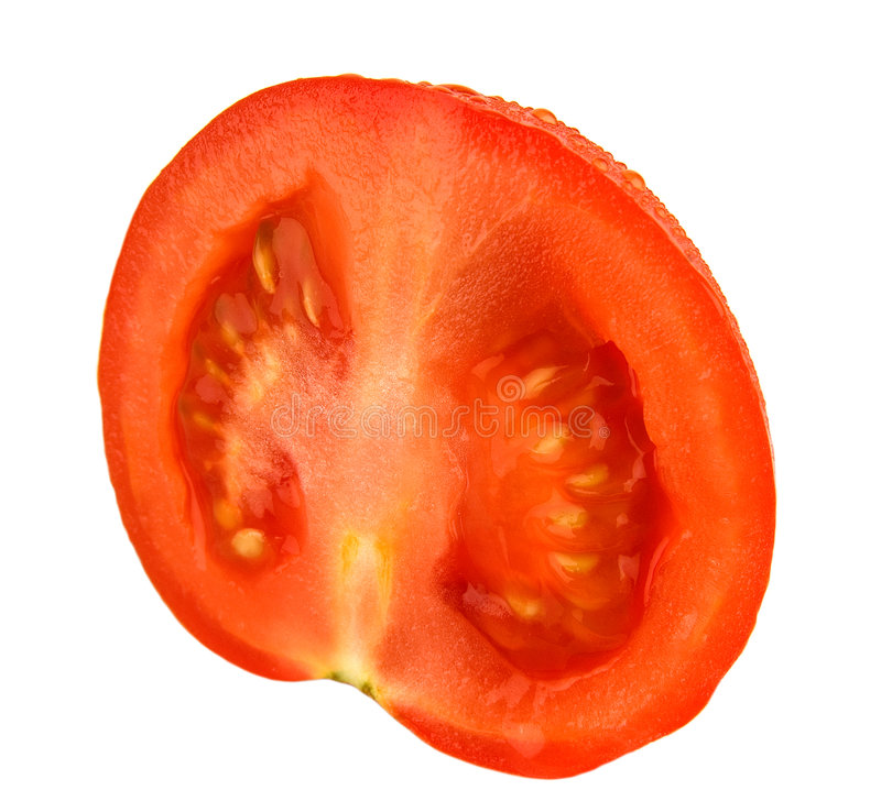 Red tomato. Very useful and tasty vegetable royalty free stock images