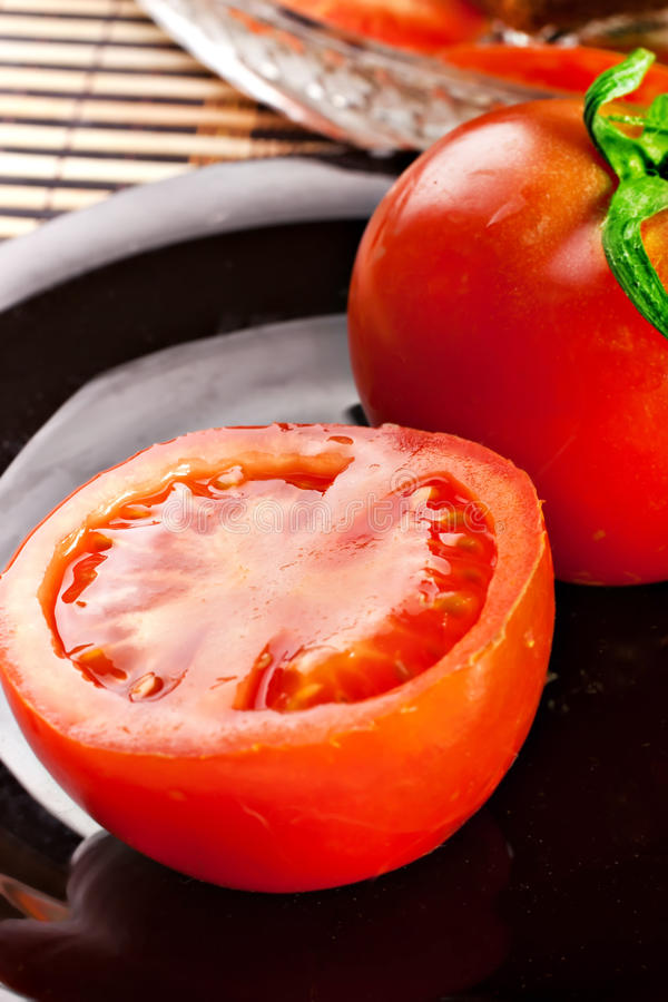 Red Tomato Vegetable Stock Image