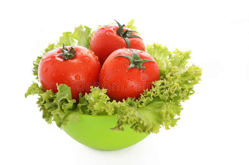 Red tomato vegetables stock image