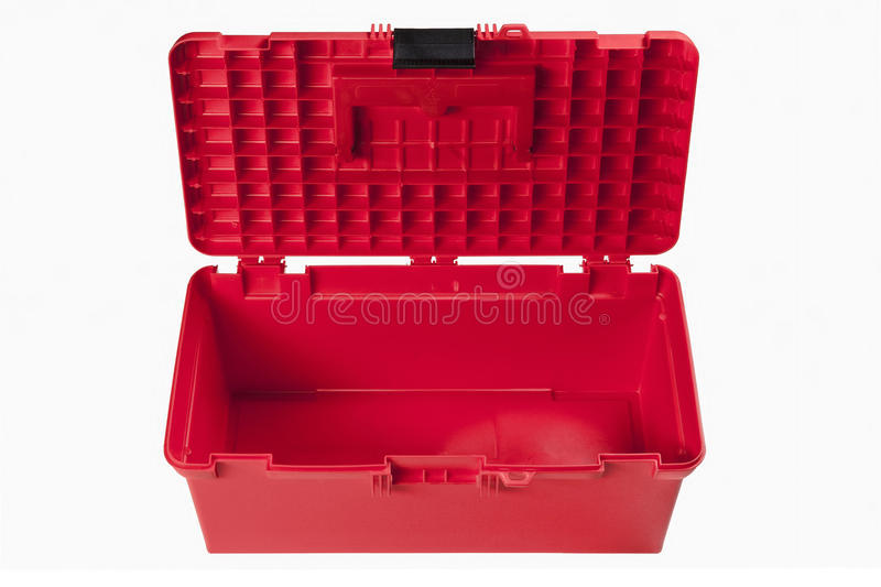 Red toolbox stock images