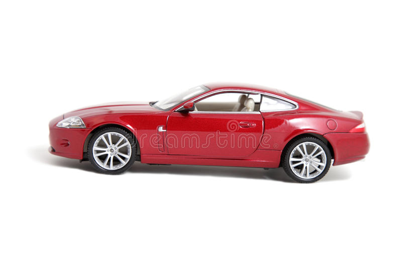 Download Red Toy Car Isolated On White Stock Image - Image: 14954973