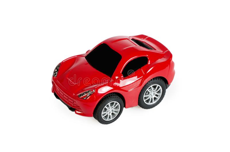 Red Cartoon Toy Car Stock Image Image Of Automobile