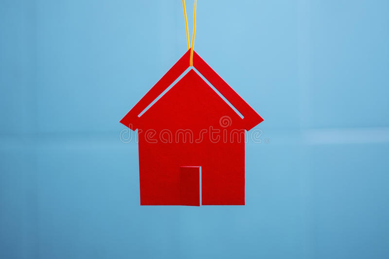 Red Toy House Royalty Free Stock Images