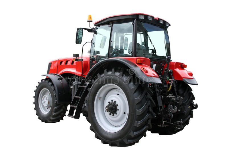 Download Red tractor stock photo. Image of engine, driving, transportation - 19831226