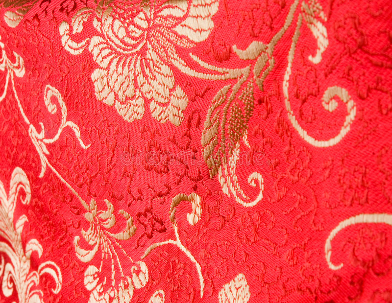 Download Red Traditional Chinese Silk Dress Stock Image - Image of bride, fabric: 5607817