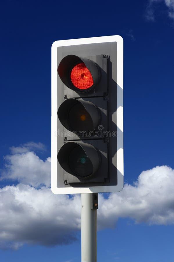 Free Red Traffic Light Stock Image - 15738581