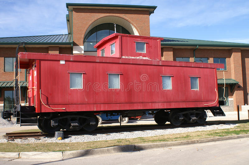 Red Train Caboose stock images
