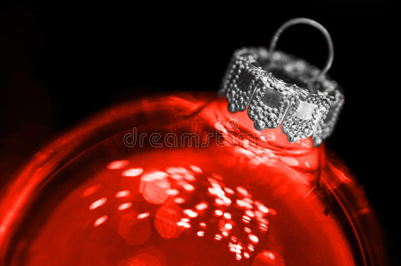 Download Red Transparant Christmas Ball Stock Image - Image: 16692217