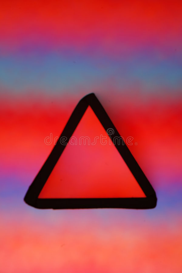 Download Red triangle stock image. Image of colorful, abstract - 5083603