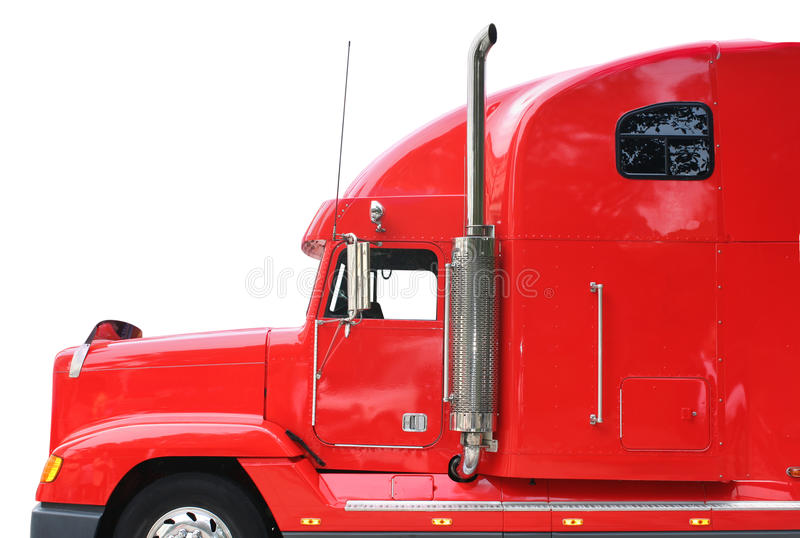 Red Truck royalty free stock photos