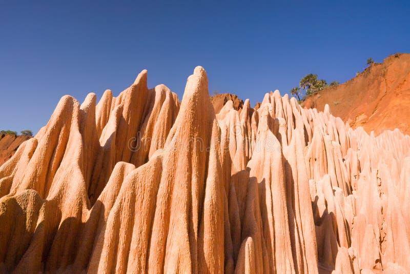 Download Red Tsingy Of Diego Suarez, Madagascar Stock Image - Image of madagascar, rock: 13639541