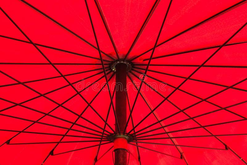 Download Red Umbrella stock photo. Image of black, parasol, decor - 25371766