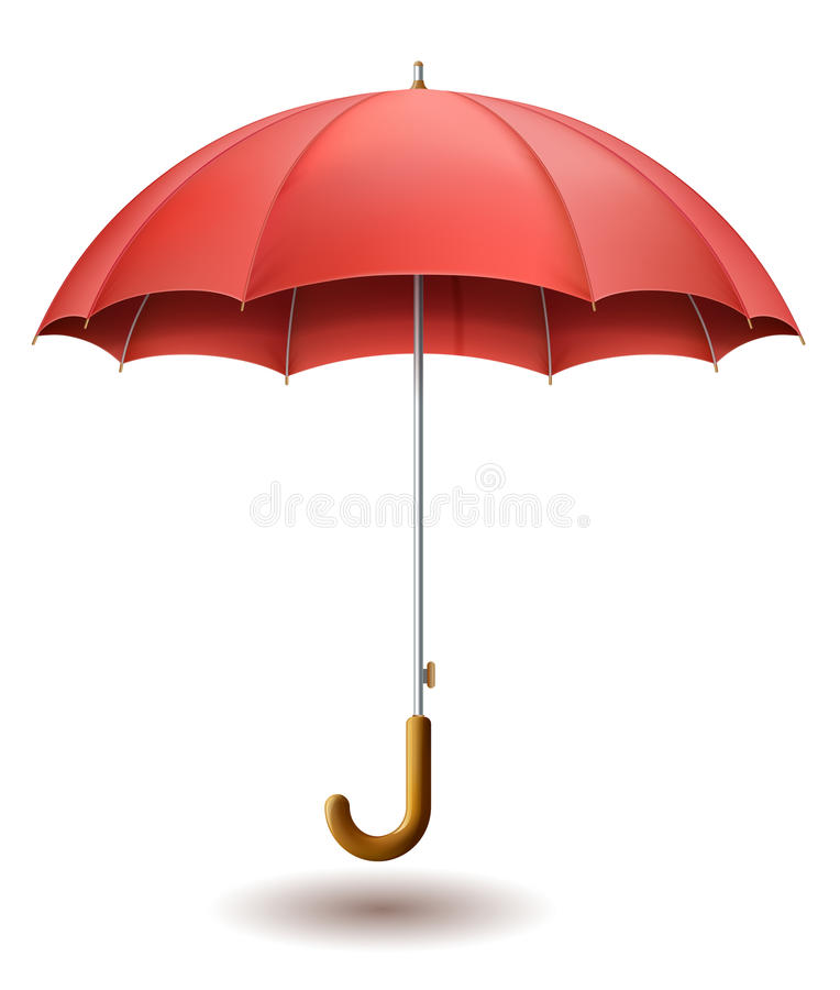 Free Red Umbrella Stock Images - 54269904