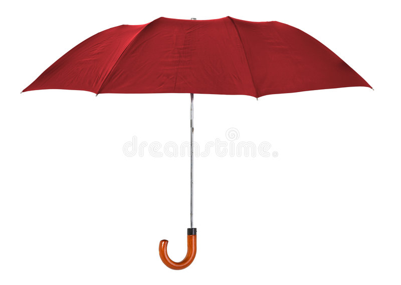 Download Red umbrella stock image. Image of single, close, isolated - 9031305