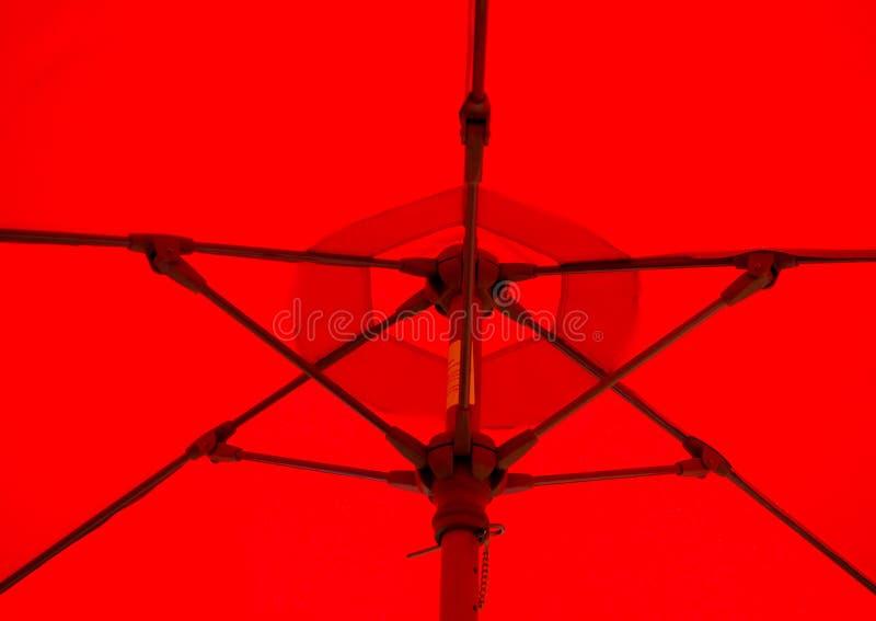 Download Red Umbrella stock photo. Image of struts, raining, crossbrace - 33952178