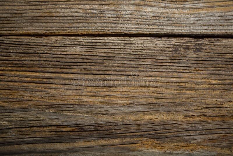Red ut gammal Grunge för Closeup trä texturerad bakgrund arkivbild