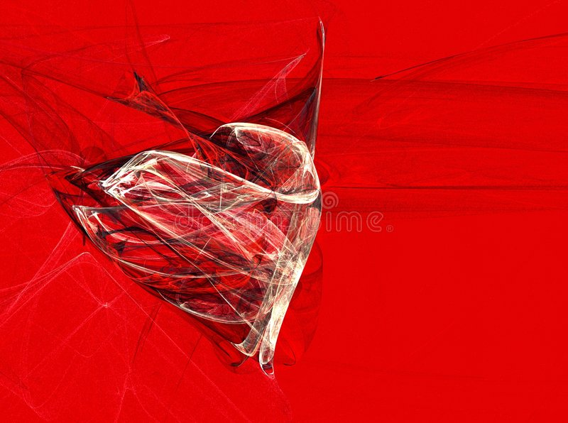Red Valentine vector illustration