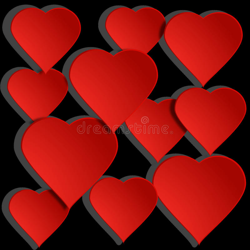 Red, Valentine's Day, Love, Heart stock photography