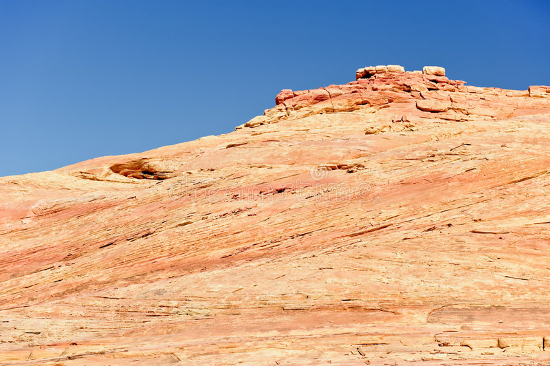 Download Red Valley of Fire stock image. Image of natural, rocks - 6774921