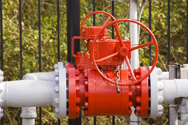 Red Valve royalty free stock images