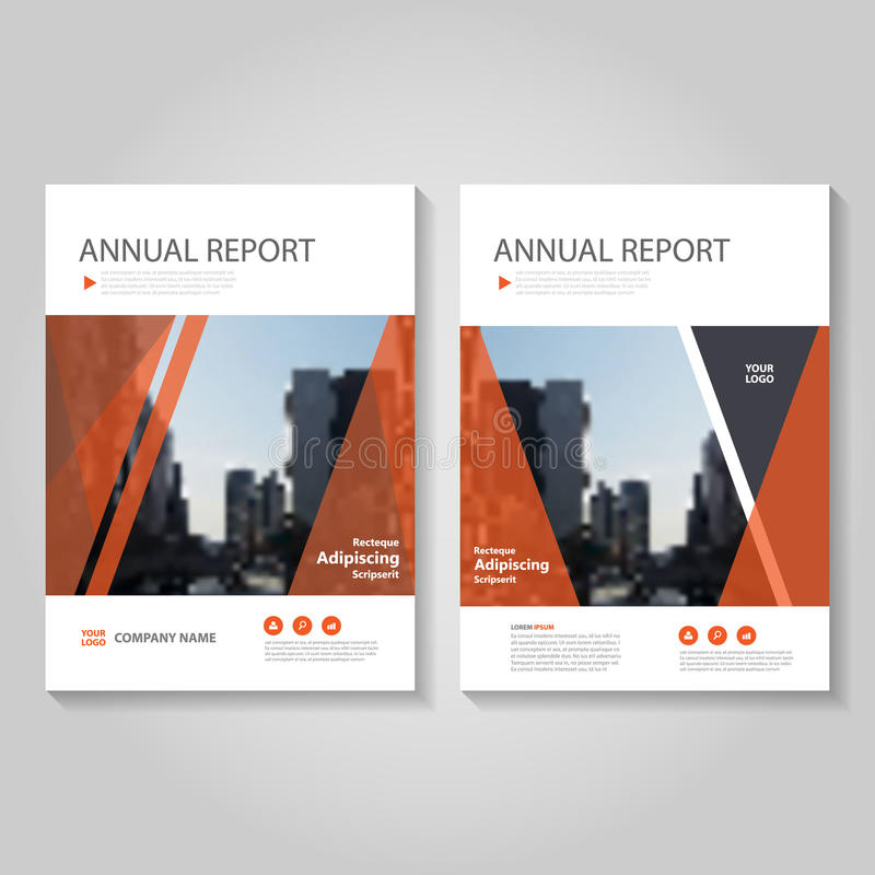 Red Vector annual report Leaflet Brochure Flyer template design, book cover layout design, Abstract blue presentation templates vector illustration