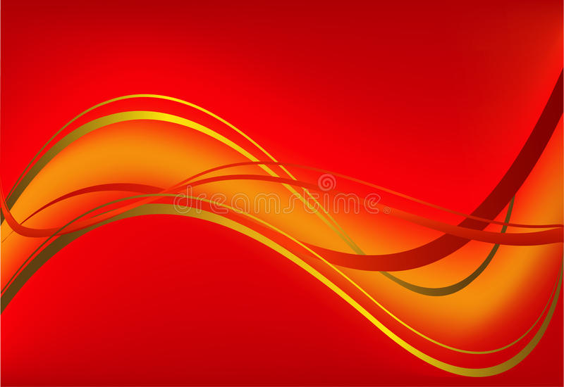 Red vector background royalty free illustration