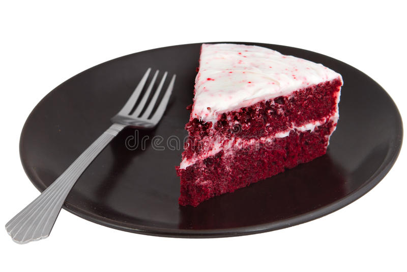 Red velvet cake stock photos