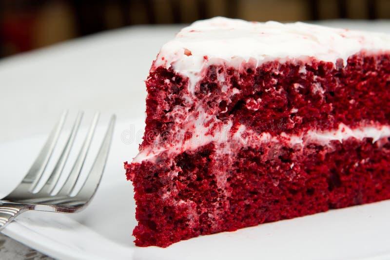 Red velvet cake royalty free stock images