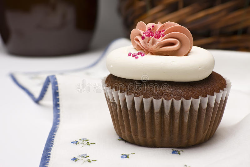 Download Red Velvet Cupcake stock photo. Image of snack, cake - 16506408