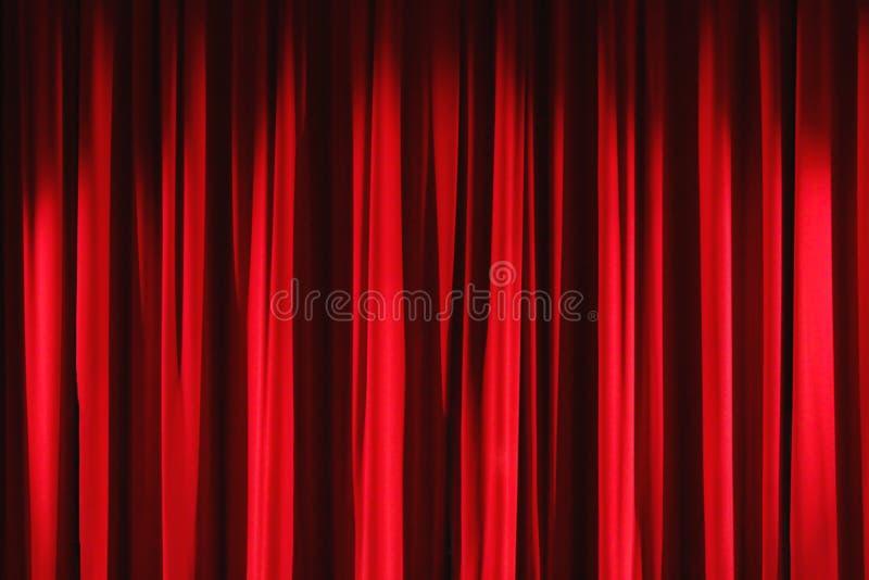 Download Red velvet drapes curtain stock photo. Image of velvet - 23731926