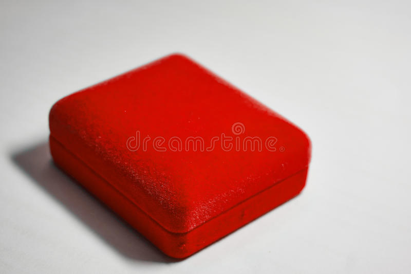 Red velvet jewelry box stock image Image of luxury 73250329