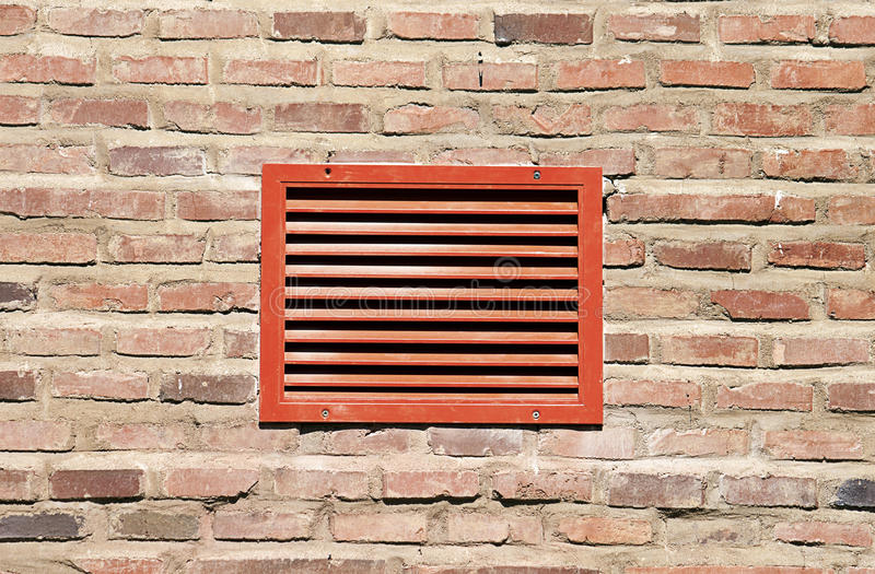 Download Red ventilation grill stock photo. Image of abstract - 30727380