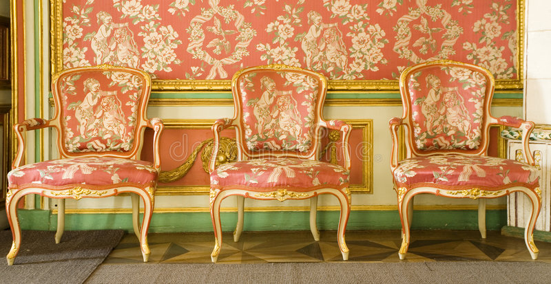 Download Red Victorian Furniture Stock Photo. Image Of Fashioned   3859918