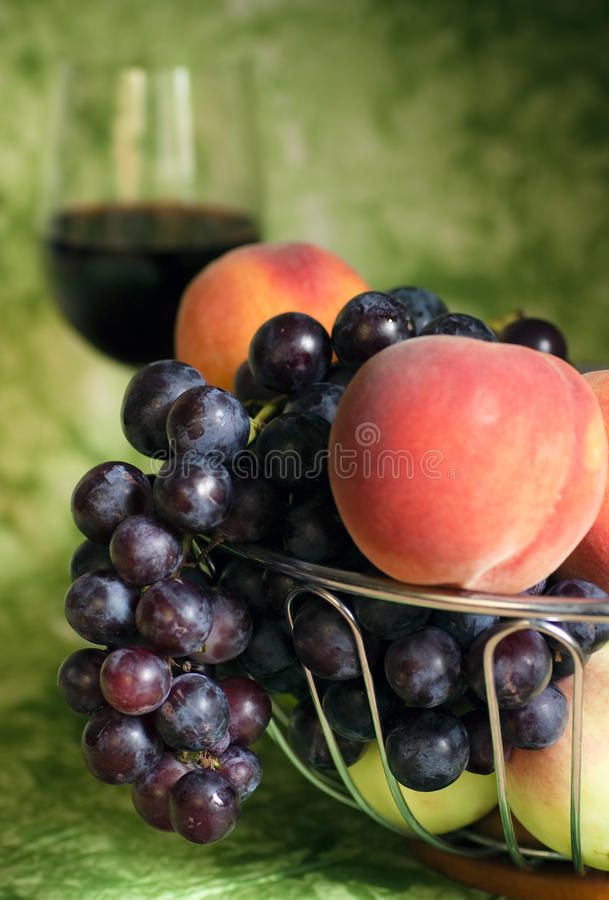 Download Red vine with red grapes stock photo. Image of background - 13301600