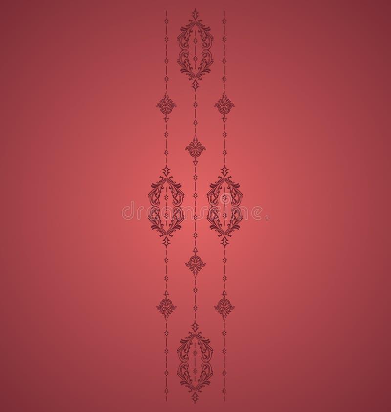 Red Vintage vector illustration